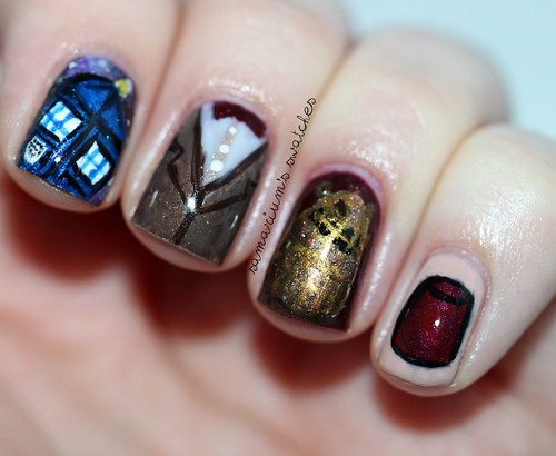 Doctor Who Nails (1)