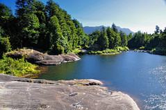 Río Correntoso - Sector Correntoso - P.N. Alerce Andino (Chile)