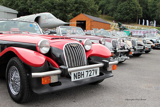 A Line_up Of Panther_Cars at Brooklands Museum