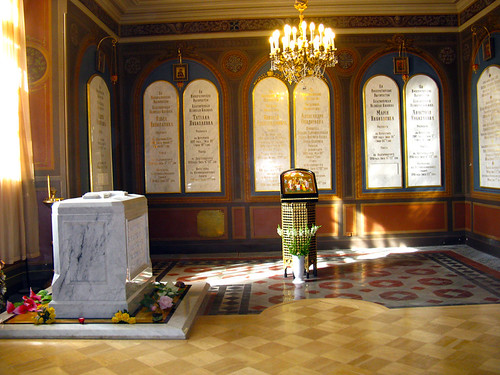Burial Place of Nicholas II and Familly