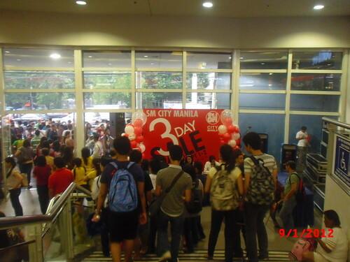 SM City Manila 3 Day Sale KNT 33