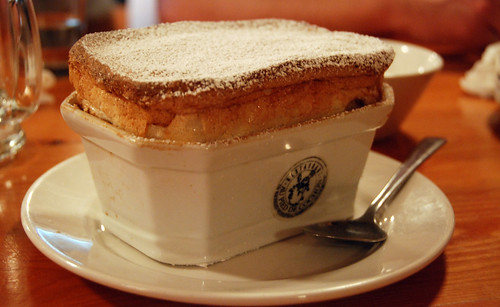 Apple Chocolate Souffle