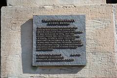 Oxford County Court House Commemorative Plaque (Woodstock, Ontario)
