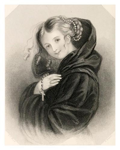 003-El espiritu de la Abadia de Norman-The poets' gallery….1861