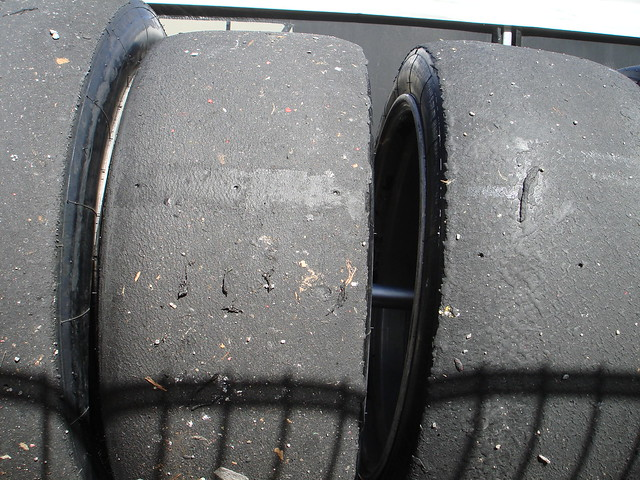 Used Porsche Supercup tyres