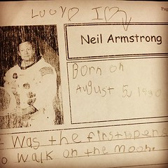 I don't think I've ever been happier about a piece of school work. #iheartneil #spacecamp4life