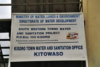 011_8 swTws Project signboard, Kisoro 1999