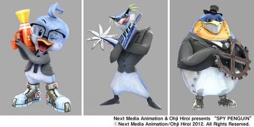 120904(3) – 「台灣壹傳媒動畫:日本支部」今天推出3DCG可愛動畫《SPY PENGUIN 間諜酷企鵝》! (2/2)