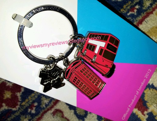 london 2012 keyring