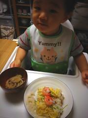 晩御飯はちらし寿司 (2012/9/6)