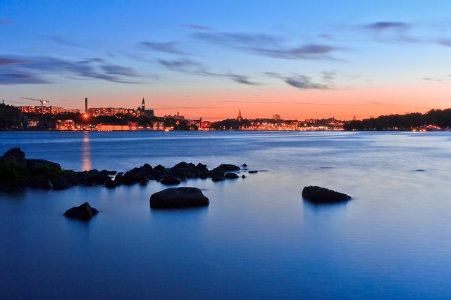 Stockholm - The Rocks off the City in Twilight [EXPLORE #1 - Thank you!!]