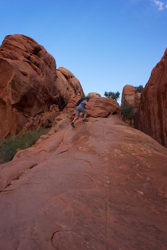 Dan on the Primative trail