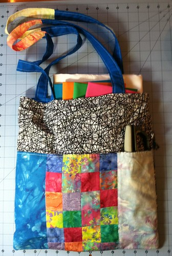 scrap tote from jacey