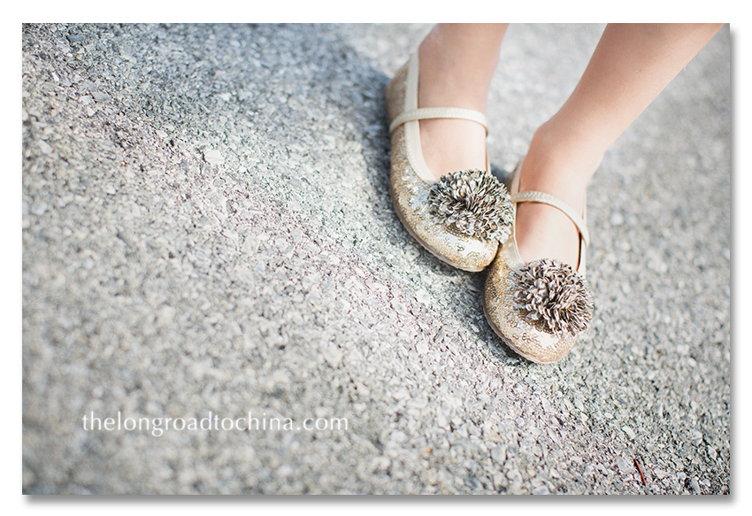the glittery leopard shoes BLOG