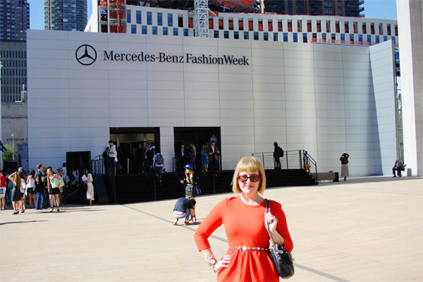 new york fashion week outfit post