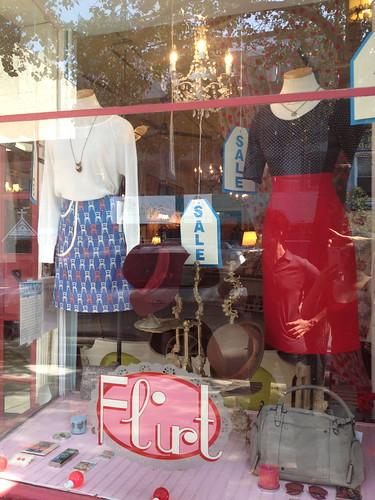 レトロなお洋服屋さん@ブルックリン。