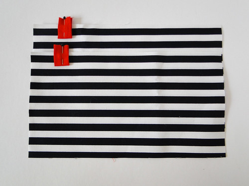 04 Striped Crossbody Clutch Tutorial by Fabric Paper Glue