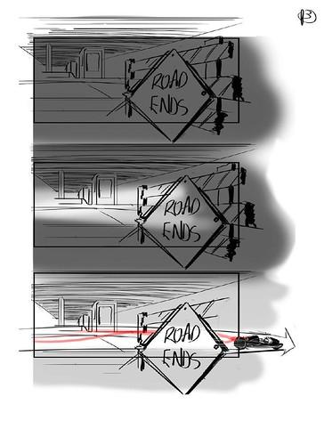 120912(2) - 好萊塢真人電影版《光明戰士 AKIRA》片頭場面的『分鏡表』正式公開......對啦、還有修改的空間啦! (3/7)