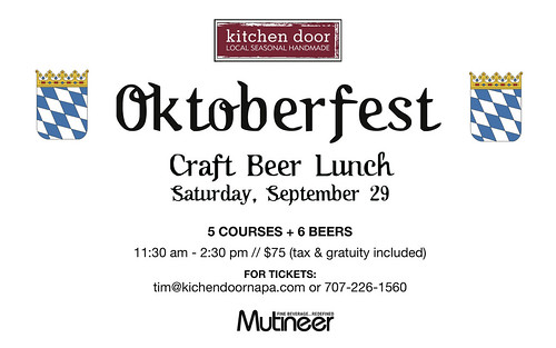 Kitchen Door Oktoberfest