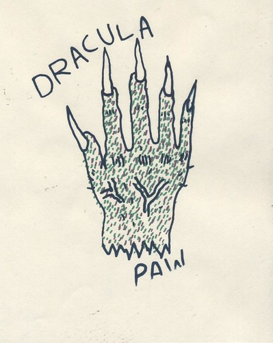 Dracula Paw Tattoo by willlaren