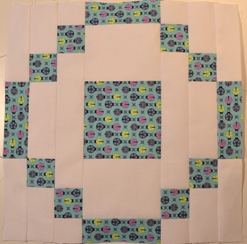 Stonehenge block - for my month in the Modern Blocks Bee