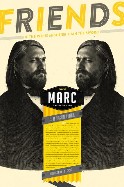Marc d'Avignon // Poster