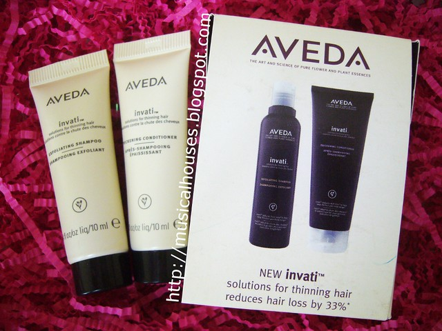 bellabox october aveda shampoo