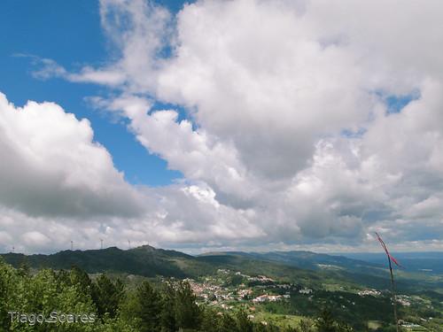 portugal landscape cloudy paisagem nublado caramulo nuvoloso nuageux bewölkt
