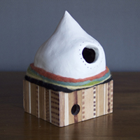 Meg Hunt Birdhouse