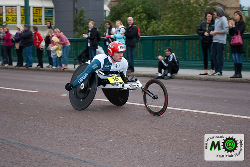 Photo ID 10 - Bupa Great North Run 2012, Mickey Bushell, tyne bridge, Wheelchair race by mattmuir.co.uk