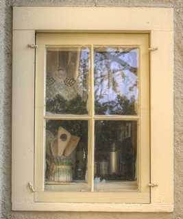A Closer Look - What's in the window that looks like a ghost