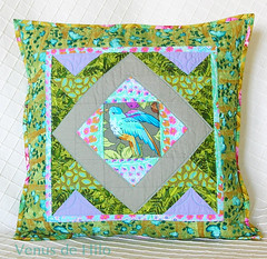 Bluebird Pillow Cover