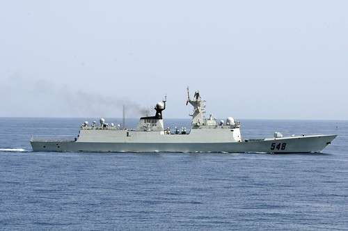China's Ministry of National Defense confirmed Monday Chinese and U.S. navies conducted their first joint anti-piracy drill in the Gulf of Aden (1)