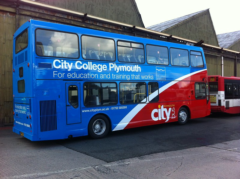 Plymouth Citybus 409
