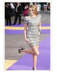 Miley Cyrus Bandage Dress Herve Leger Celebrity Style Women's Fashion