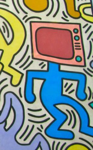 Tuttomondo Keith Haring Pisa