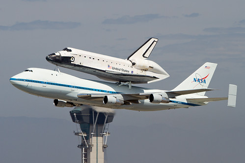 End of an Era - Space Shuttle Endeavour Flies for the Last Time