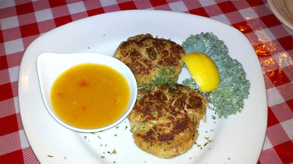 Crab Cakes, Lobster Pot, Siesta Key, Sarasota, FL