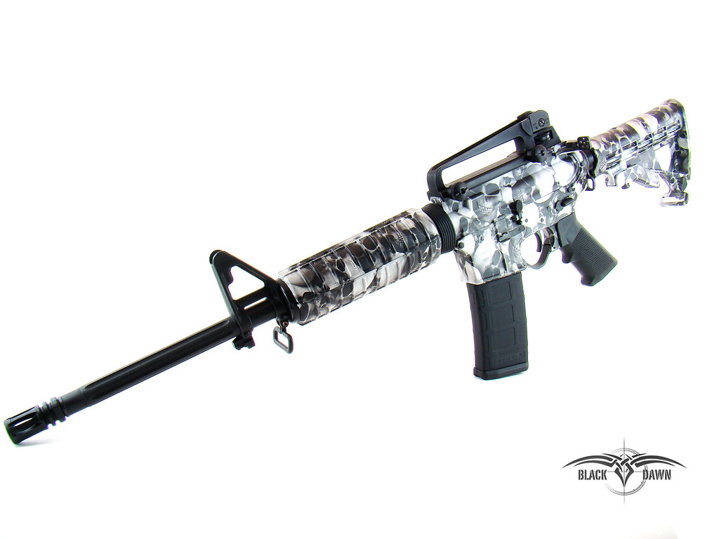 Hydrographics Diping Guns In Denver Cool Shit