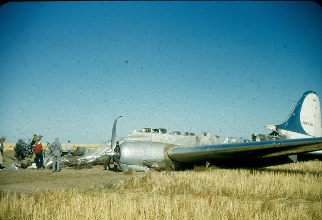 North Star Airlines crash early 1950s