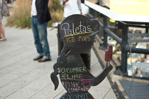 paletas on the highline