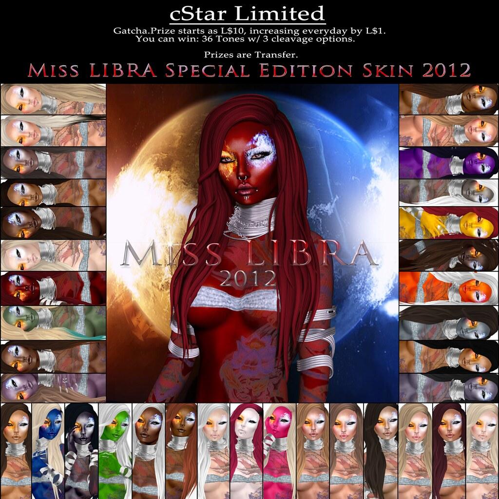 cStar Limited - Miss Libra 2012