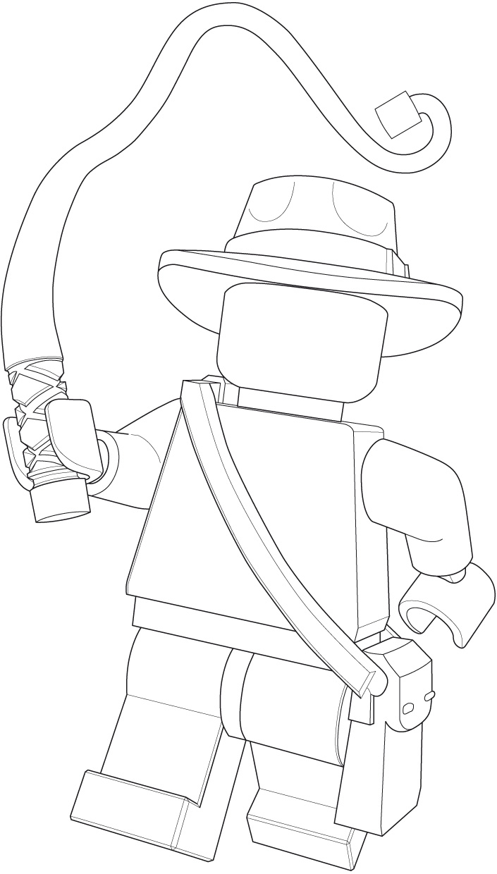 printable indiana jones coloring pages - photo#15