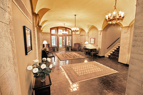 Franklin Hall Lobby... IN COLOR!