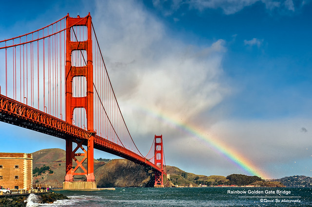 Rainbow -- Golden Gate Bridge