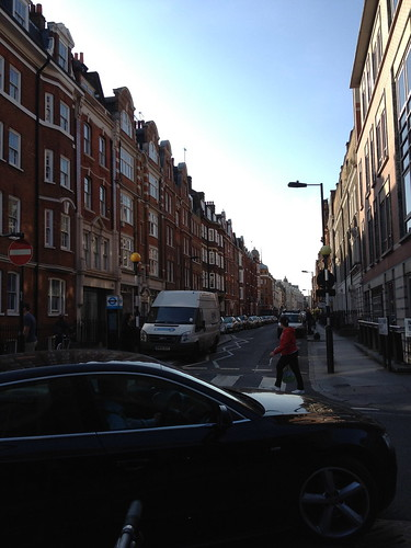 London Early Morning Streets