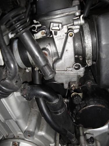 Mikuni BST36 flat slide CV carburettors