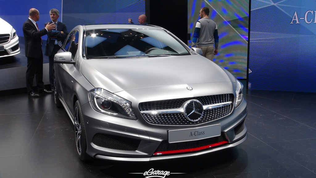 8034741247 e979f9b35e b eGarage Paris Motor Show Mercedes Benz A Class