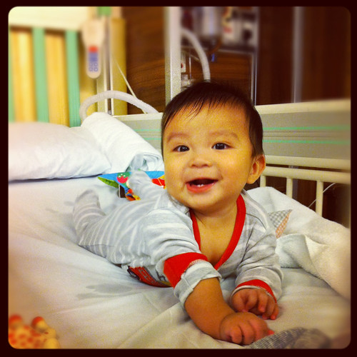 First hospital stay 260912
