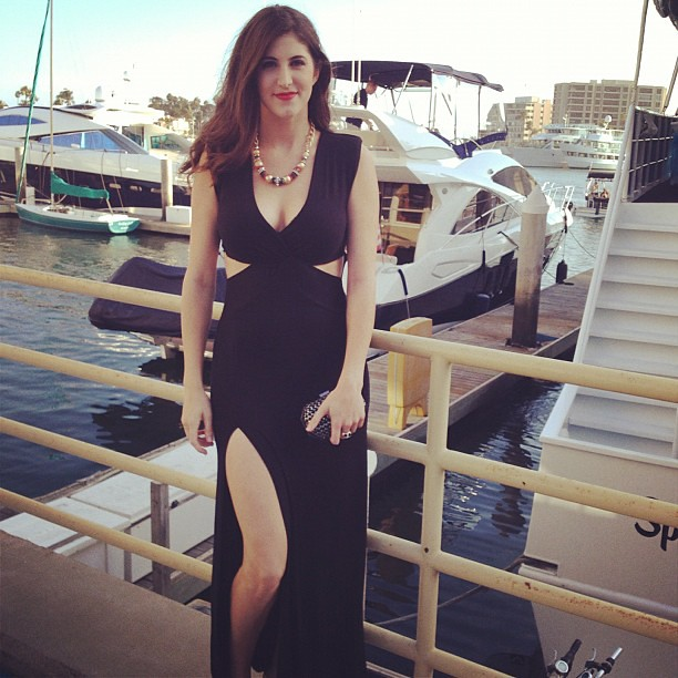 Ready for the #setsailinstyle fashion show with @Fdg_events on a yacht!! @thelafashion